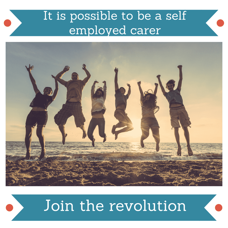 self employed carers